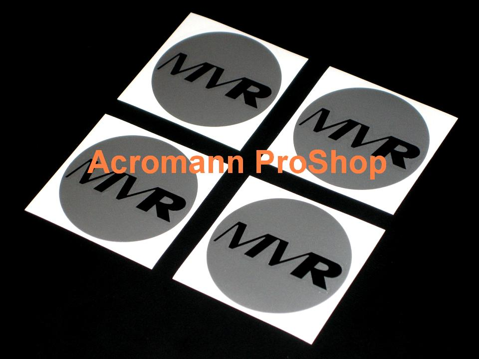 MVR 2.2inch Wheel Cap Decal x 4 pcs